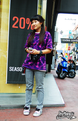 Korean Fashion Street Wear April 2007