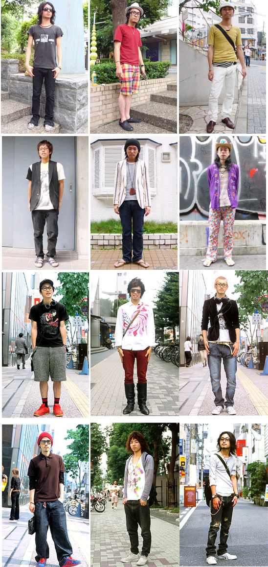 Korean Fashion Street Wear October 2007