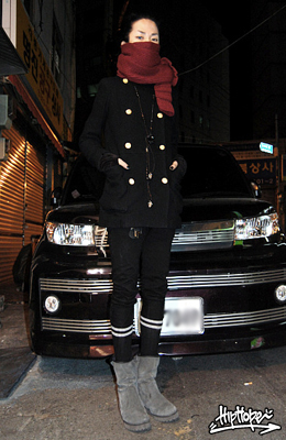 Korean Fashion Street Wear December 2008