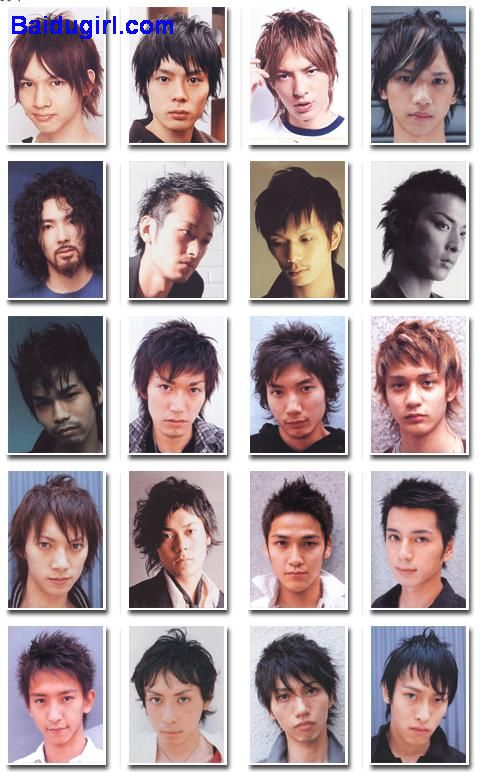 Asian Men's Hair Pictures