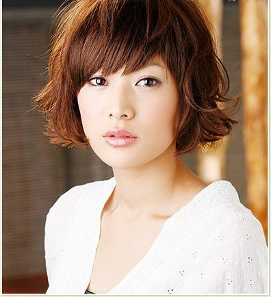 Cool Nice Asian Women Hairstyles With Wavy Perms Asian Hair Short Hairstyles Gunalazisus