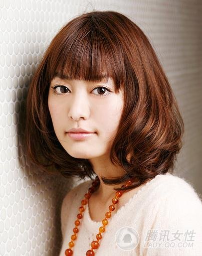 Japanese asian women hair styles