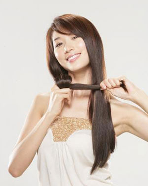 Lin Chi Ling Asian Hair Style