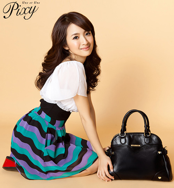 Ariel Lin Fashion Pictures For Pixy Bags | Asian Fashion | Taiwan Fashion
