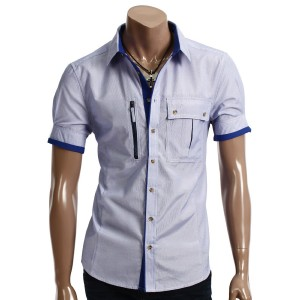 Korean Men's Slim-Cut Shirt