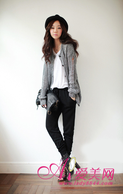 Korean fashion cardigan
