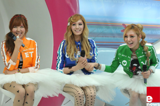 Orange Caramel Korean Fashion