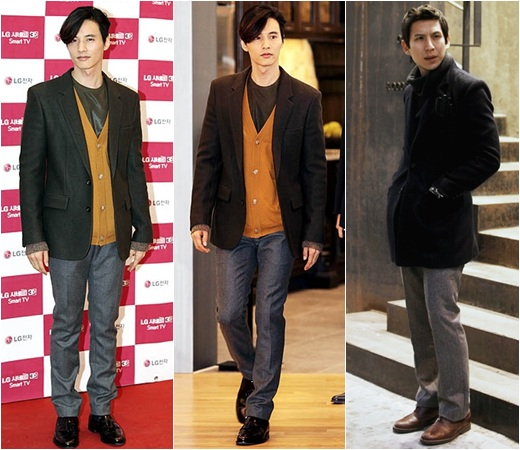 Won Bin Korean Fashion