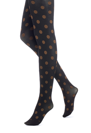 HUE Polka Dots Print Tights