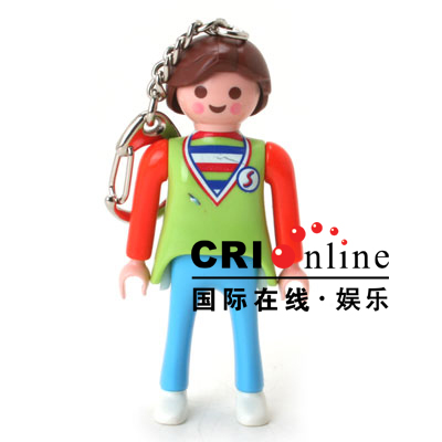 Korean Fashion Accessories Lego Keychains