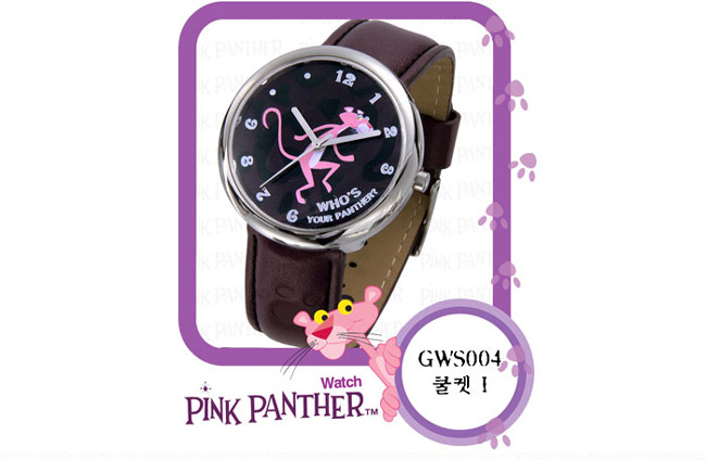 Pink Panther Watches Korean Fashion Accessories