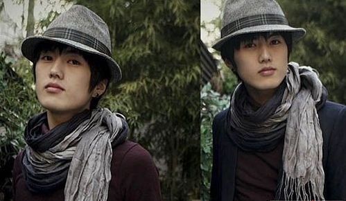 Korean Fashion Style   on Cool And Trendy Korean Men Winter Fashion With Scarf And Hat Style