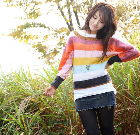 Korean Fashion Knit Wear Winter Fashion