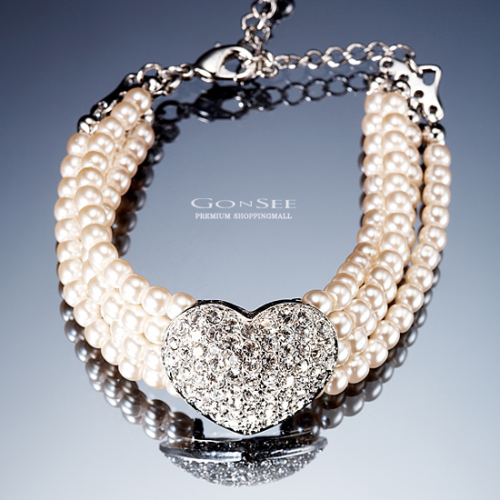 Gonsee Crystal Korean Jewelry Necklaces