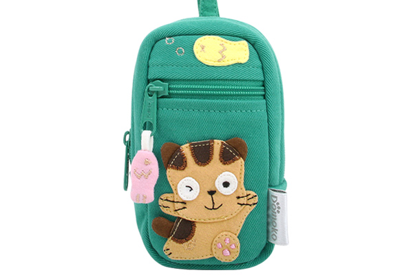 Korean Fashion Bags | Cute Cloth Pouches With Kitty Cat Design
